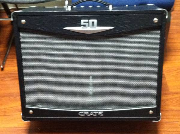 Crate V50 112 ALL Tube Amp - $150 (Hanford, CA)