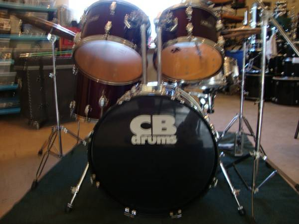 CB-700 Drums 5pc.Kit (Big Boy Kit) - $285 (Lemoore)
