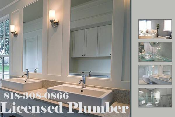 $49 -Licensed Plumber -------------------- Repair or Install (westside hollywood valley la - Service $49.00)