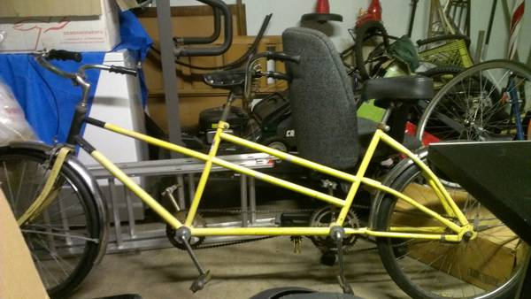 columbia tandem bicycle (Montclair)
