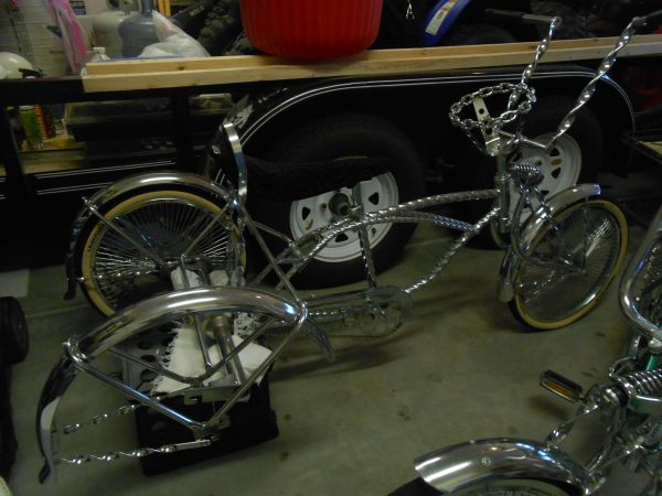 lowrider bike 3 wheeler twisted all chrome - $500 (indio)
