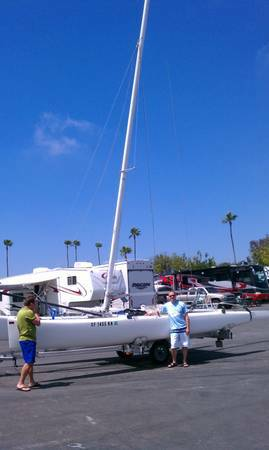 Inter 20 or Nacra 20 racing catamaran - $9995 (San Diego)
