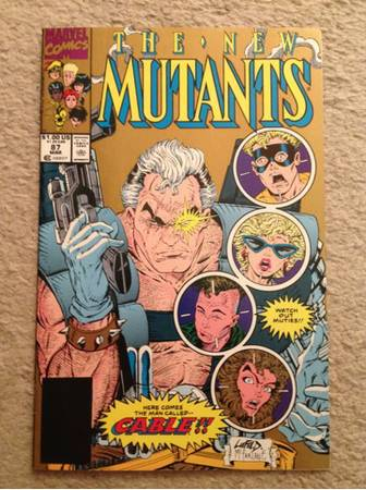 -gtgt New Mutants 87 (2nd print)ltlt- - $4 (Indio)