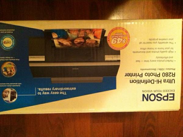 Epson ultra hi-definition r280 photo printer (brand new) - $150 (Oceanside )