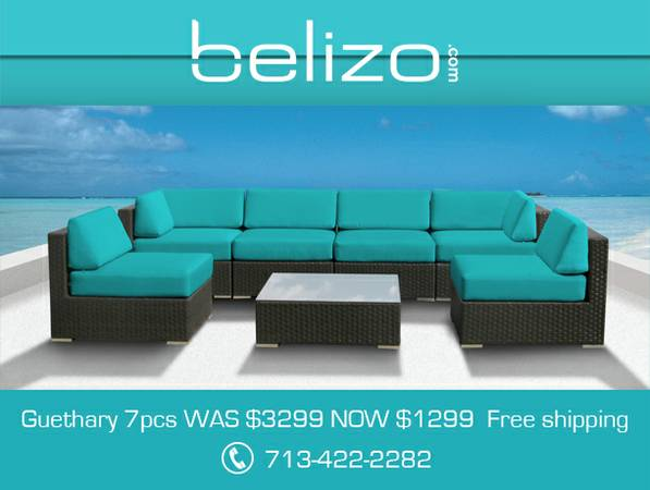 Outdoor Furniture Outdoor Lounge Furniture - $1500 (outdoor patio furniture wicker sofa sect)