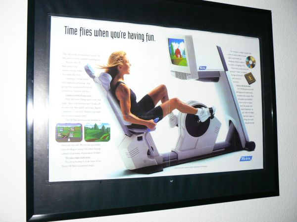 Tectrix Virtual Reality Recumbent VR bike, Brand New, Rare find - $1400 (Palm Springs)