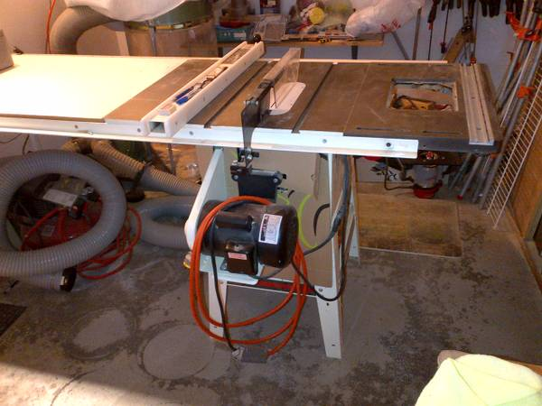 Jet Table Saw with Router Table - $600 (San Diego, 92130)