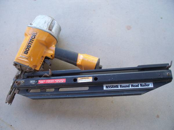 Framing Nailer-Bostitch N95RHN - $185 (El Centro)