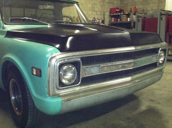 69 Chevy C10 Cowl Induction Hood - $400 (Riverside)