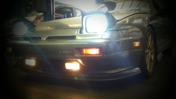 90 Nissan 240sx clean title tags up to date very clean cheap - $2 (orange county)