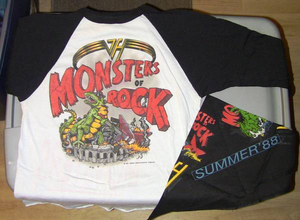 Concert T-Shirts - Metallica, VH, GR, Priest from 80-90s concerts - $25 (Mission Viejo)