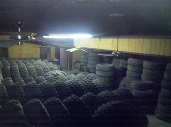 Large Military sized tires in stock 20 rim application - $300 (Lucerne Valley)