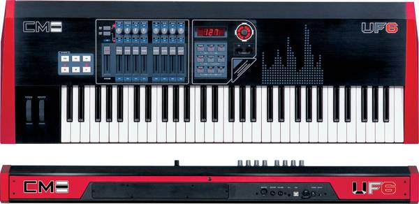 PRO KEYBOARD CME UF6 Master Controller with ASX Expansion Synth Board - $499 (Palm Desert, CA)