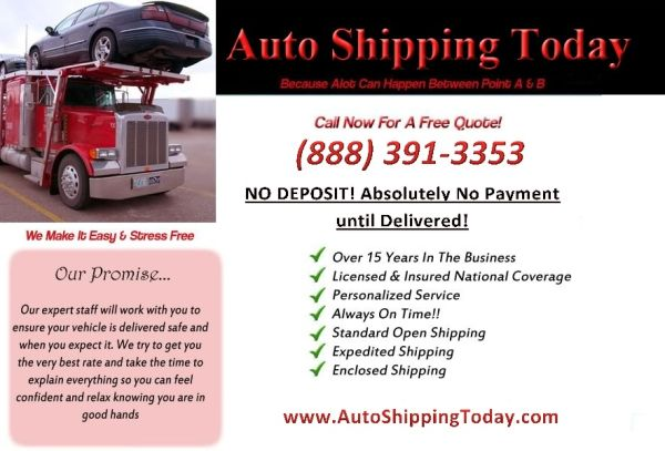 CALL THE AUTO TRANSPORT EXPERTS (NATION WIDE)