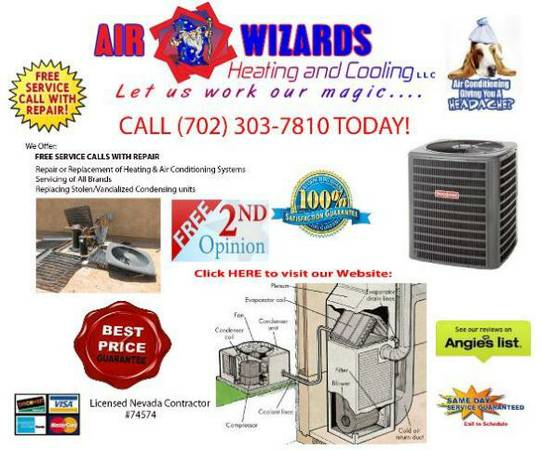 AC PROBLEMS CALL US AFFORDABLE AC SERVICE REPAIR (Valleywide)