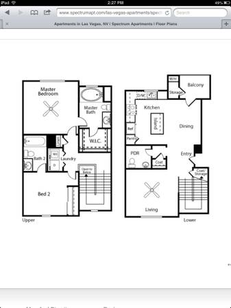 - $980 2br - 1152ftsup2 - Seeking someone to take over lease (Southwest)