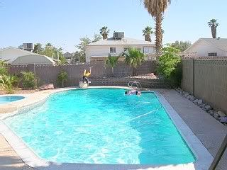 4br - 973397339733 Heated Pool Spa Home At End Of Quiet Street (10 Minutes West Of Vegas Strip)