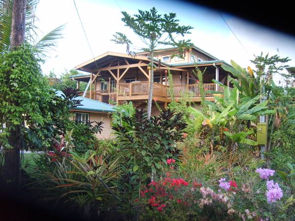 $145 3br - 2600ftsup2 - Kahonua House at the Kapoho Tidepools snorkeling Reserve (Big Island .S.E. Ocean point Kapoho)