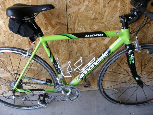 Bicycle Cannondale R1000 Slice Ultra Road Bike - $1100 (Henderson)