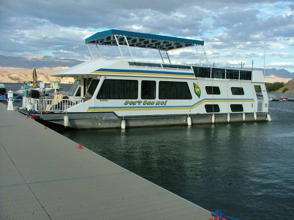 56 1998 FunCountry Houseboat - $76000 (CottonWood Cove, Lake Mohave NV 89046)
