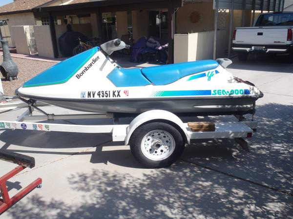 91 Sea Doo GT 3-seater with trailer - $795 (Craig Decatur)