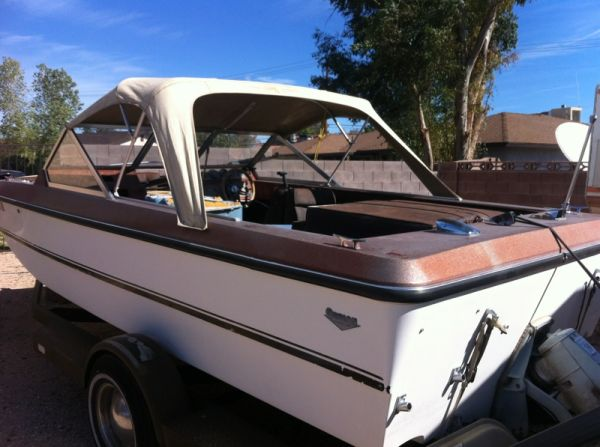17ft tri-hull orion boat and trailer - $350 (sw)