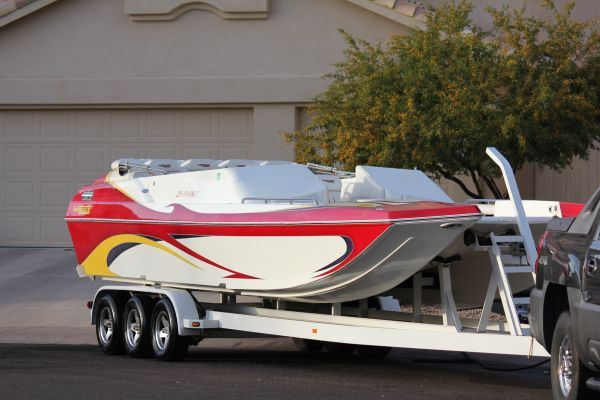 2006 28 FT WARLOCK DIABLO TWIN 496 HOs CAT-HULL PARTY DECK - $58000 (Phoenix)