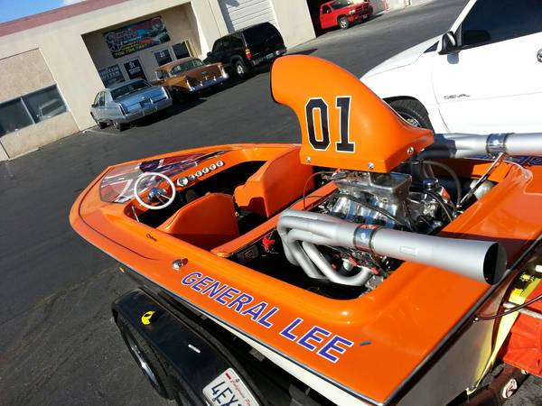 General Lee Jet Boat price reduced