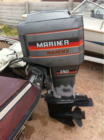 1987 Procraft 1780V boat 150HP Mariner engine bass finder - $3000 (las vegas)