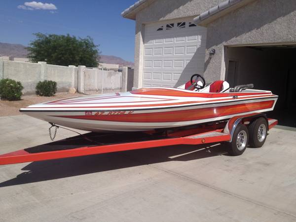 20 Hallett v-drive turbo 400 454 - $14000 (havasu)