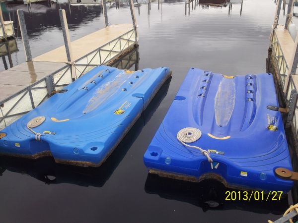 2 Hydroport 2 s Personal water Craft dock - $1100 (Boulder City)