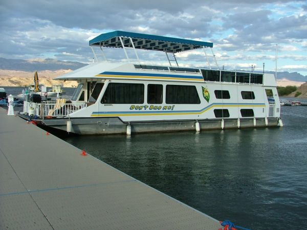 56 1998 FunCountry Houseboat - $87000 (CottonWood Cove, Lake Mohave NV 89046)