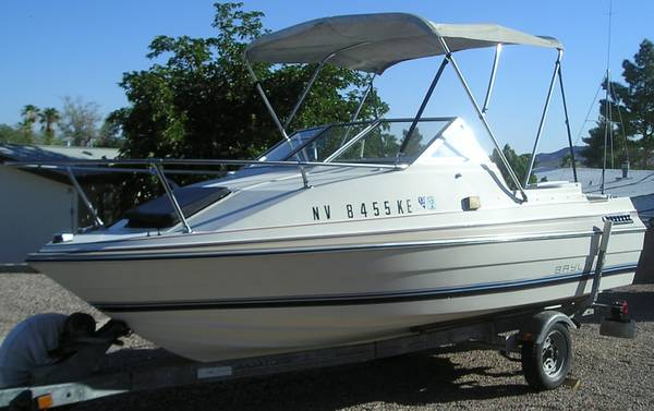 Bayliner Cuddy Cabin, 16 ft, xlnt for small family or couple - $3400 (South Henderson)