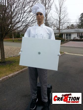 Motorized Sign Waver - Male Chef- Deli- Pizza Restaurant - $879 (We Ship)