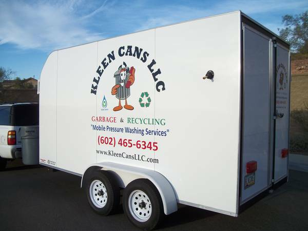 Great Mobile Car Wash Biz Enclosed Trailer with ALL NEW Equip - $9999 (Deer Valley Phoenix, AZ)