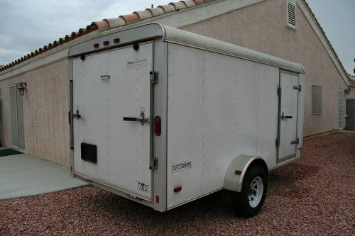 Pace 6x12 Enclosed Trailer - $1200 (NW LV)