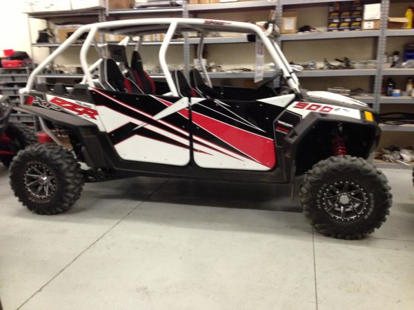 New RZR XP 4 900 (Lake Havasu)