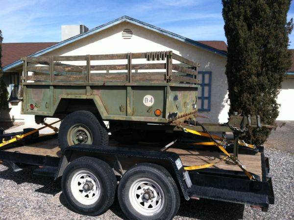 Trailer M101A2 34 ton - $1000 (215 Windmill)