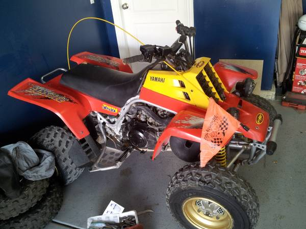 1996 YAMAHA BANSHEE 350 IN GREAT SHAPE STARTS FIRST KICK TITLE IN HAND - $1690 (SOUTHWEST)