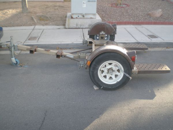 DEMCO KAR KADDY TOW IT II - HEAVY DUTY TOW DOLLY WITH SWIVEL PLATFORM - $750 (south west)