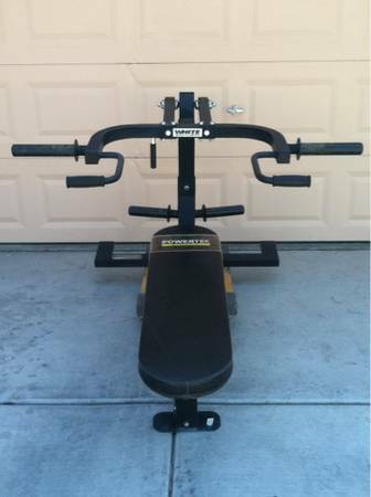 Powertec Home Gym - Bench and Shoulder Press Lat Pulldown (Summerlin)