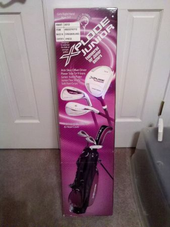 XPLODE Junior Right Hand Ages 3-7 Golf Club Set NEW - $40 (Boulder Station)
