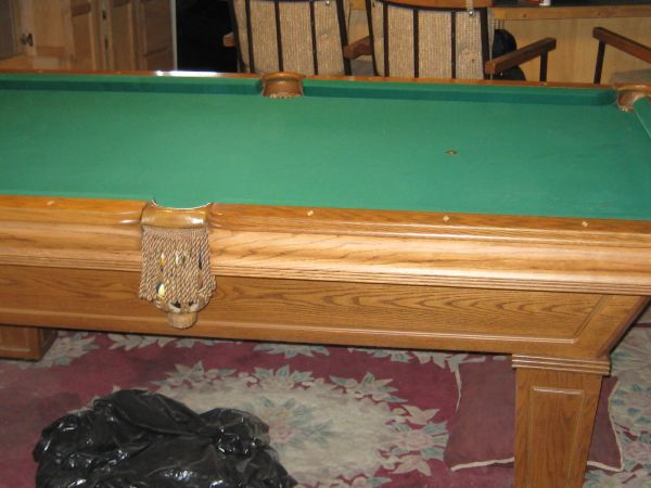 Pool table for sale and accessories - $1000 (NE)