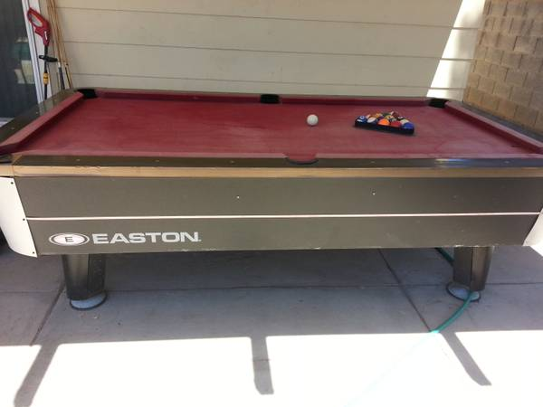 8ft. Easton pool table $150 (Las Vegas)