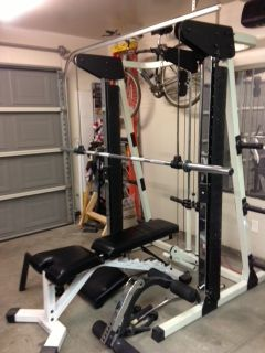 PROSPOT P-100 SELF SPOTTING HOME GYM - $550 (North Las Vegas)