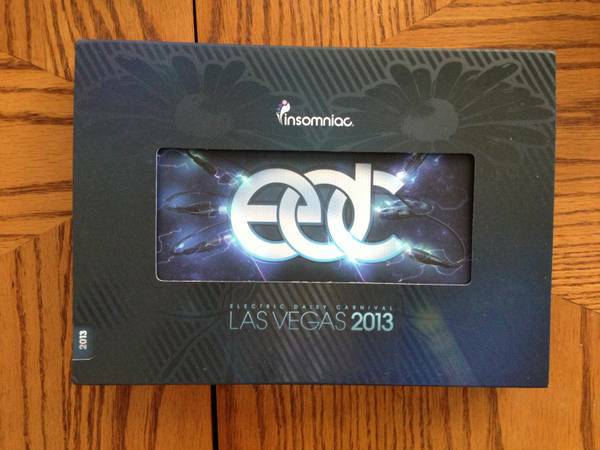 3 day EDC Las Vegas Ticket with Shuttle Pass - $450 (SD - LV)