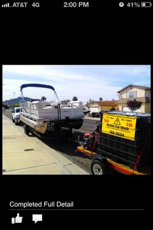 Mobile Car Wash Trailer for Sale Detailing - $1400 (Nw las vegas)