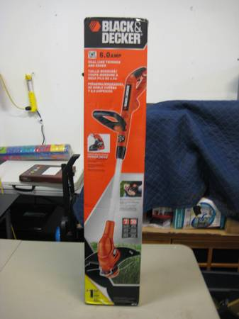 Black Decker Edger Trimmer New - $30