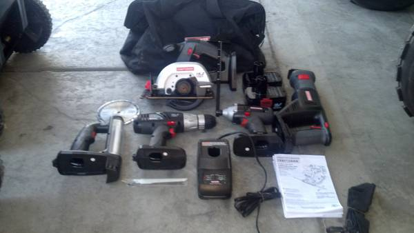 Craftsman Impact Drill Saw Light Tool Set - $175 (Henderson)