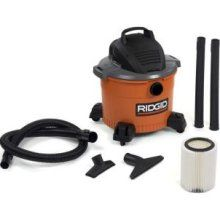 Ridgid Shop Vac- barely used - $45 (Henderson)